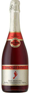 Barefoot Bubbly Red Moscato 750ml